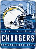 Northwest NFL Chargers 60x80 Silk Touch Throw