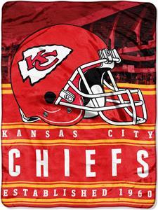 Northwest NFL Chiefs 60x80 Silk Touch Throw