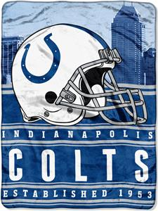 Northwest NFL Colts 60x80 Silk Touch Throw