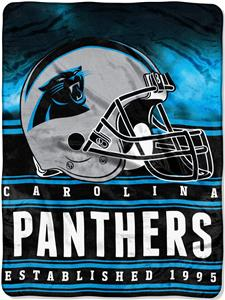 Northwest NFL Panthers 60x80 Silk Touch Throw