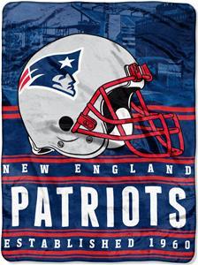 Northwest NFL Patriots 60x80 Silk Touch Throw
