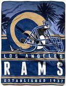 Northwest NFL Rams 60x80 Silk Touch Throw