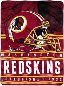 Northwest NFL Redskins 60x80 Silk Touch Throw