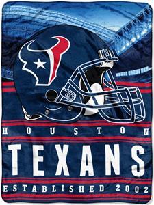 Northwest NFL Texans 60x80 Silk Touch Throw