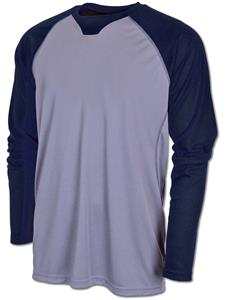 Baw Men's Xtreme-Tek Long Sleeve Baseball Shirt
