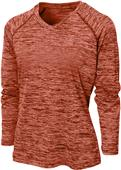 Baw Women's Dry-Tek Vintage Heather LS Shirt