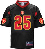 Battlefield Men 25th Infantry Army Football Jersey