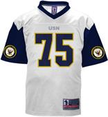 Battlefield Navy Authentic Football Jerseys