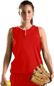 Under Armour Womens Relay Henley Softball Jerseys