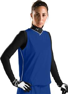 Under Armour Womens Relay V-Neck Softball Jerseys