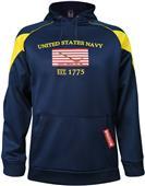 Battlefield Navy Mens Core Printed Hoodie