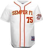 Battlefield Marines Semper Fi Baseball Jerseys