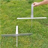 Fold-A-Goal Outdoor Kickback Adapter Kit (pair)