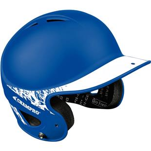 2-Tone Rubberized Matte Finish Batting Helmets