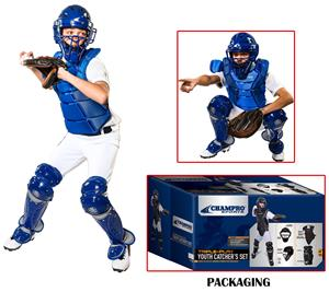 Champro Triple-Play Youth Baseball Catcher's Set
