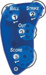 Markwort See-Thru Blue Precision Plastic 4-Dial