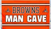NFL Cleveland Browns Man Cave 3' x 5' Flag