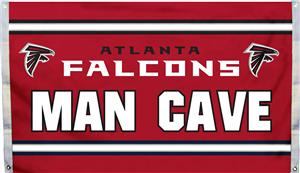 NFL Atlanta Falcons Man Cave 3' x 5' Flag