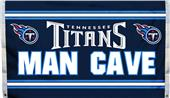 NFL Tennessee Titans Man Cave 3' x 5' Flag