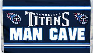 NFL Tennessee Titans Man Cave 3' x 5' Flag