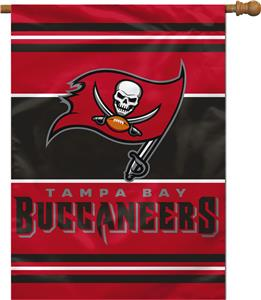 "NFL Tampa Bay Buccaneers 28"" x 40"" House Banner"