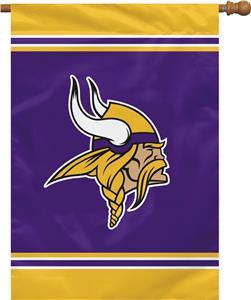 """NFL Minnesota Vikings 28"""" x 40"""" House Banner"""