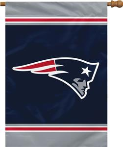 """NFL New England Patriots 28"""" x 40"""" House Banner"""