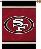 """NFL San Francisco 49er's 28"""" x 40"""" House Banner"""