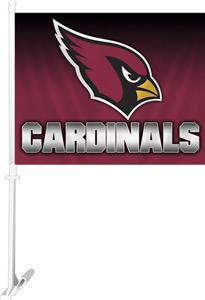 "NFL Arizona Cardinals 2-Sided 11"" x 14"" Car Flag"