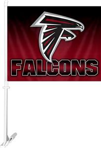 "NFL Atlanta Falcons 2-Sided 11"" x 14"" Car Flag"