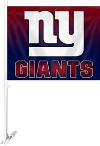 """NFL New York Giants 2-Sided 11""""x14"""" Car Flag"""