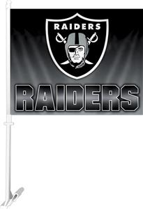 "NFL Oakland Raiders 2-Sided 11""x14"" Car Flag"