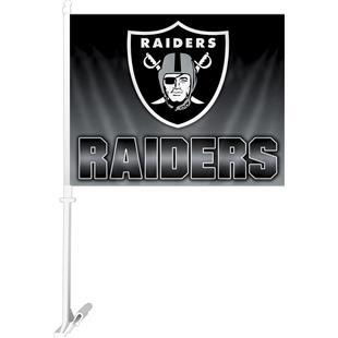 "NFL Oakland Raiders 2-Sided 11""x14"" Car Flag"
