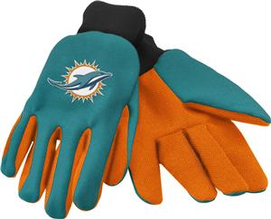 NFL Miami Dolphins Premium Work Gloves
