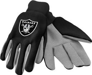 NFL Oakland Raiders Premium Work Gloves