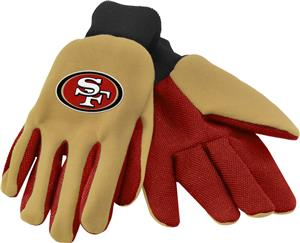 NFL San Francisco 49er's Premium Work Gloves