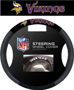 NFL Minnesota Vikings Premium Steering Wheel Cover
