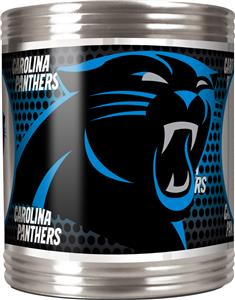 NFL Carolina Panthers Stainless Steel Can Holder