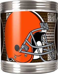 NFL Cleveland Browns Stainless Steel Can Holder