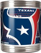 NFL Houston Texans Stainless Steel Can Holder