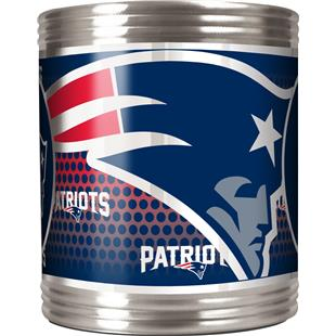 NFL New England Patriot Stainless Steel Can Holder
