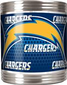 NFL San Diego Chargers Stainless Steel Can Holder