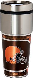NFL Cleveland Browns Stainless Travel Tumbler