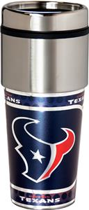 NFL Houston Texans Stainless Travel Tumbler