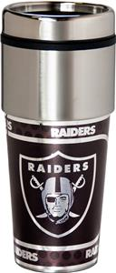 NFL Oakland Raiders Stainless Travel Tumbler