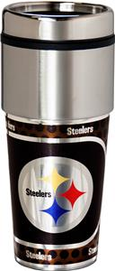 NFL Pittsburgh Steelers Stainless Travel Tumbler