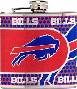 NFL Buffalo Bills Stainless Steel Flask