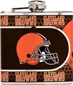NFL Cleveland Browns Stainless Steel Flask