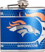NFL Denver Broncos Stainless Steel Flask