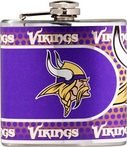 NFL Minnesota Vikings Stainless Steel Flask